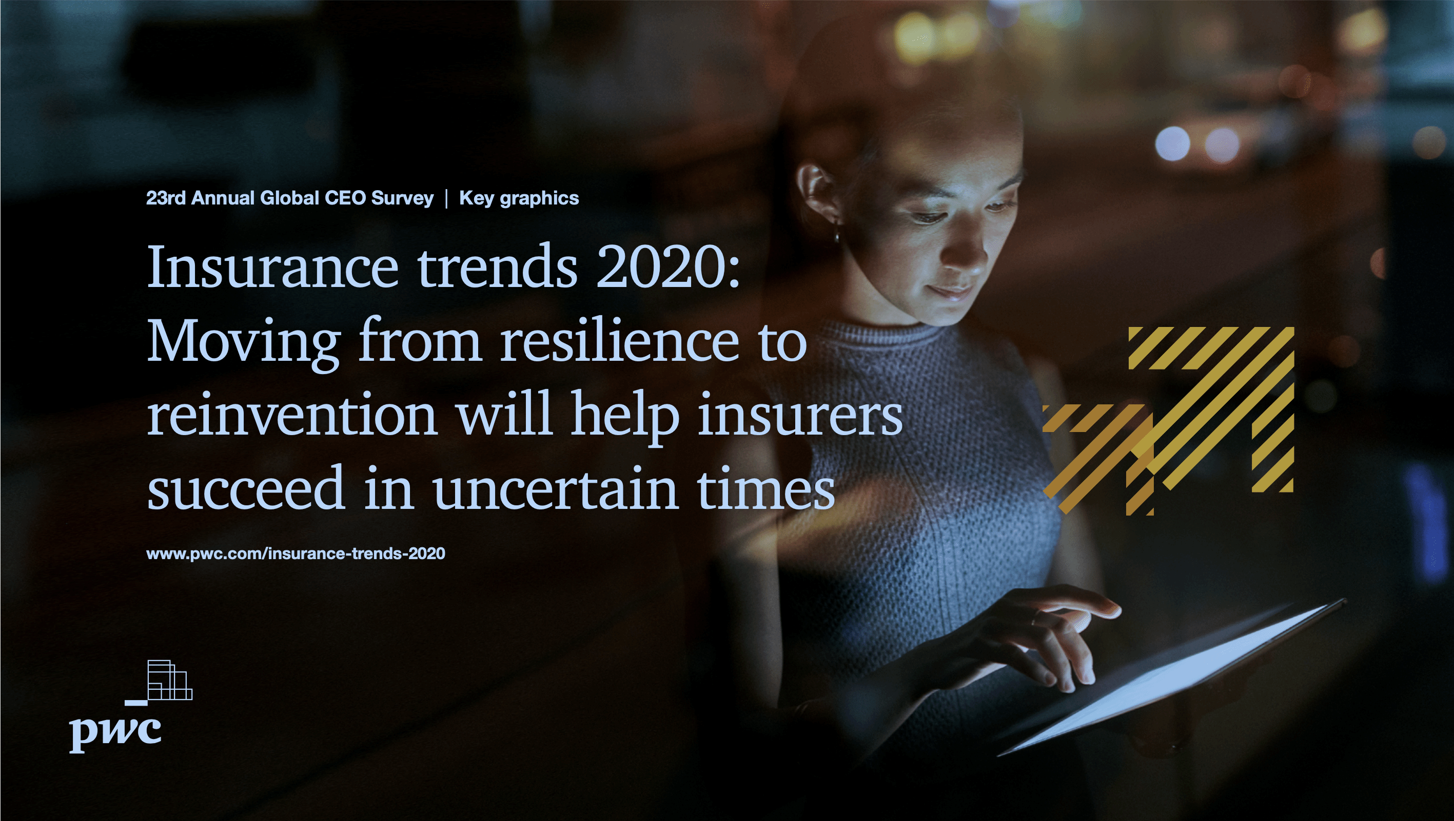 Insurance trends 2020: Moving from resilience to reinvention will help insurers